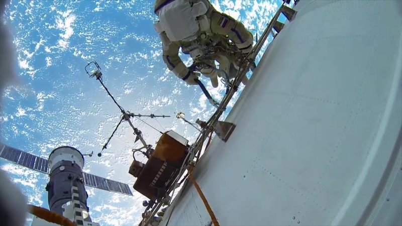 Music Igor Goncharov MKC -A Year In Space. Man overboard