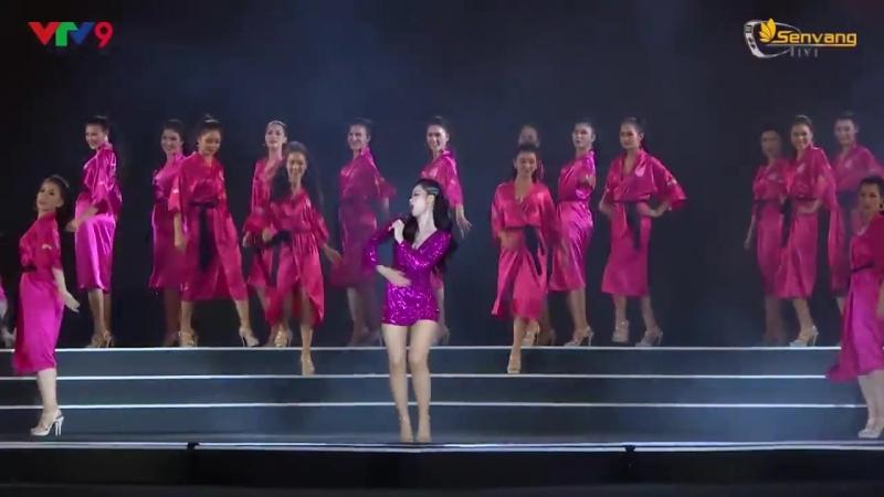 Đông Nhi KHOE VŨ ĐẠO cuốn hút với PINKGIRL trên sân khấu Người Đẹp Biển HHVN 20