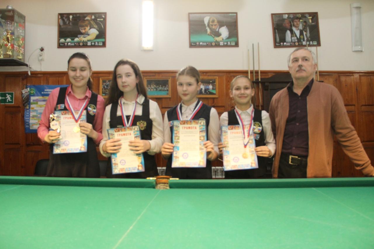 призёры девушки
