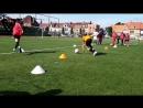 1v1 2v2 football drill thomas vlaminck kta brugge specialisatie voetbal