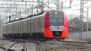 ЭС1 029 Ласточка Москва Вязьма