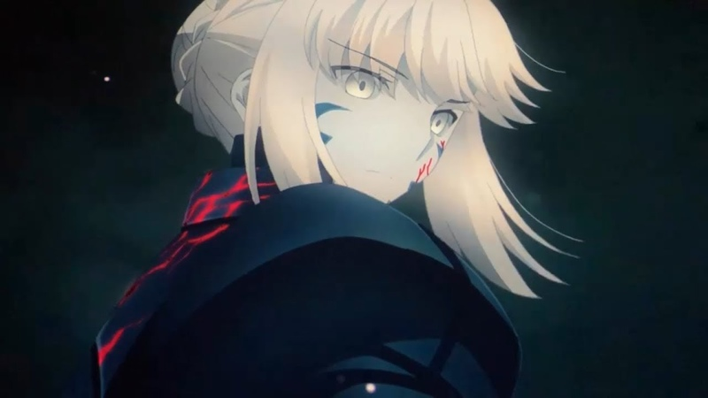 Fate/stay night Movie: Heaven's Feel 2 - Saber Alter vs Berserker | Full Fight