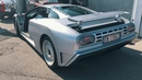 Ultimate 90's: Bugatti EB110 GT driving through Monaco