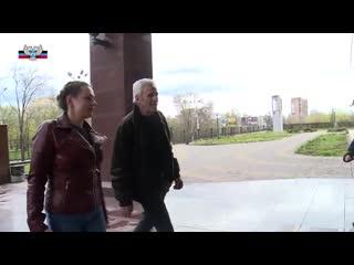 Сербский актер Гойко Митич в Донецке рассказал о своем творчестве.