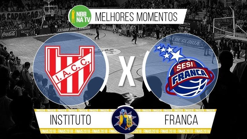 Instituto de Córdoba 79-68 Franca - Jogo 2 - Melhores Momentos (Liga Sul-Americana 2018) 13122018