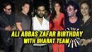 BHARAT Team Celebrates Ali Abbas Zafar Birthday | Salman Khan, Katrina Kaif, Sunil Grover