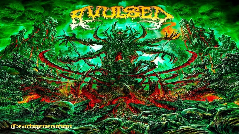 AVULSED - Deathgeneration [Full-length Album](Deluxe Edition - 2CDs) Death Metal