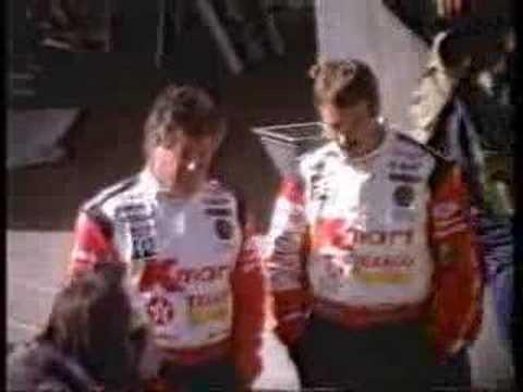 1993 Texaco Commercial w/ AJ Foyt, Mario Andretti and Nigel Mansell