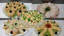 5 Закусок на Любой Вкус к праздничному столу Меню на Рождество
