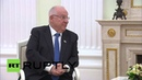 Russia: Putin and Israeli President Rivlin tout bilateral ties