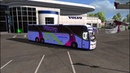 Ets2 mods Hanif paribahan and euro line and AI Traffic customize skin for 1 31 to 1 34