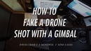 How to Fake a Drone Shot with a Gimbal│ZHIYUN Crane 2 Telescopic Monopod