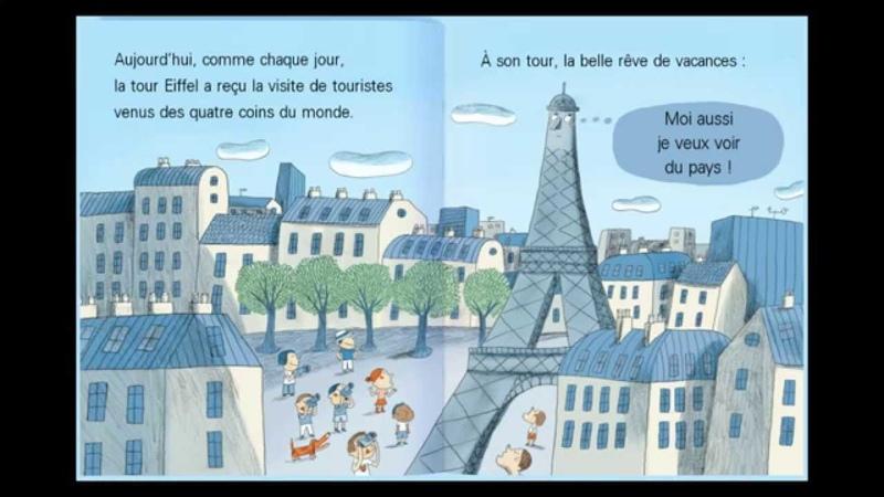 La tour Eiffel a des ailes Histoire pour enfants Dokéo TV