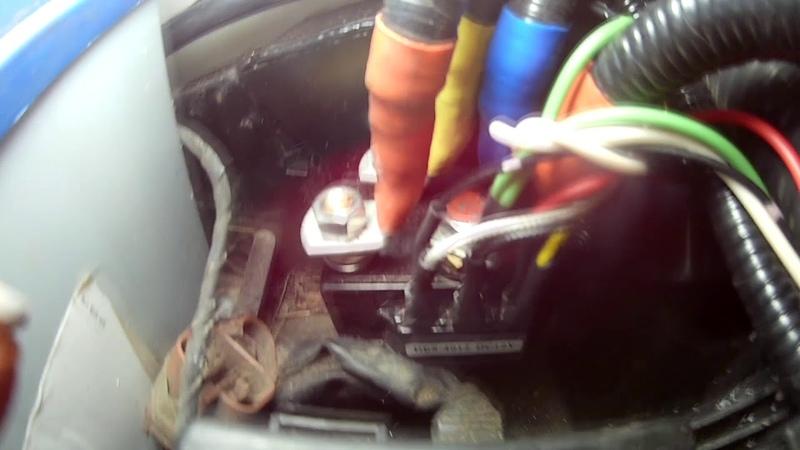 Установка лебедки в штатный бампер на Nissan Patrol Y61 с переносом соленоидов и радио модуля