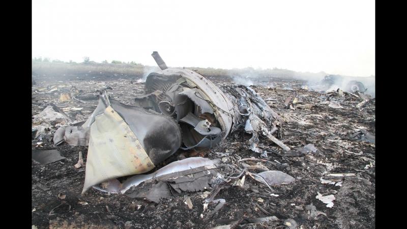 Прямая речь очевидца про крушение MH17
