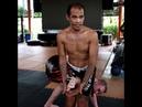 Kru Oh teaches Hak Salak Pet standing armbar