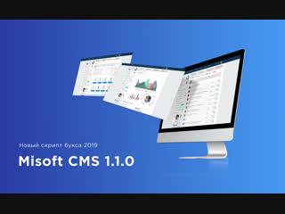 Предварительный обзор скрипта букса Misoft CMS 1.1.0