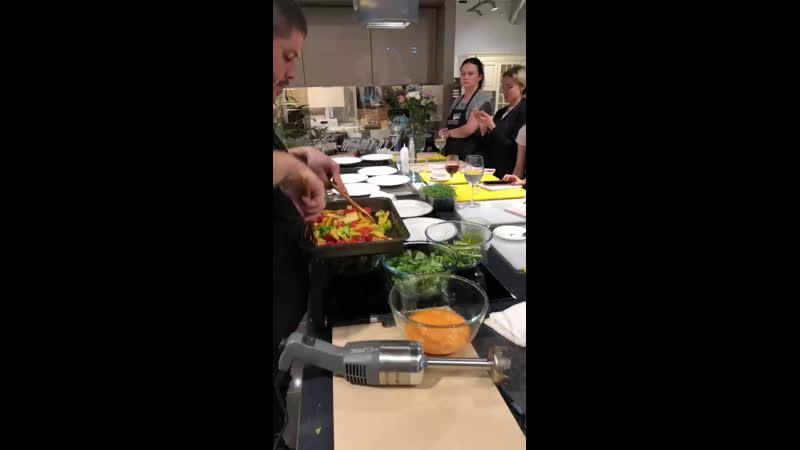 Очередной кулинарный мастер-класс:)