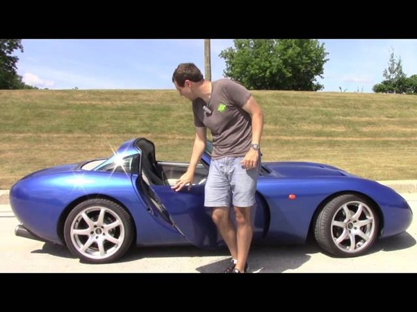 I Drove a Crazy Rare Imported TVR Tuscan And It's Insane