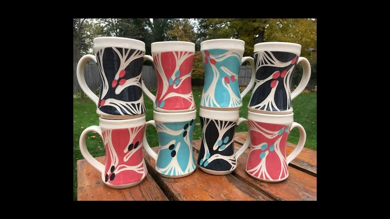 Colectivo 25 Years Limited Edition Mugs 2018 by Jean's Clay Studio