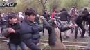 Протест этнических чеченцев в Грузии против строительства новой гидроэлектростанции