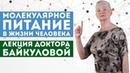 Молекулярное питание и его актуальность в жизни человека - лекция доктора Байкуловой