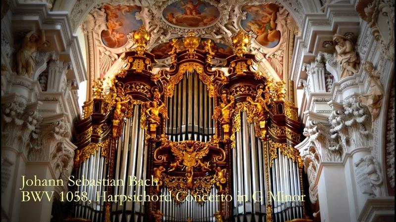 J.S. Bach, BWV 1058, Harpsichord Concerto in G Minor