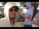 Leonardo DiCaprio Goes Incognito in a Gray Hoodie and Sunglasses at Bootsy Bellows Coachella Party