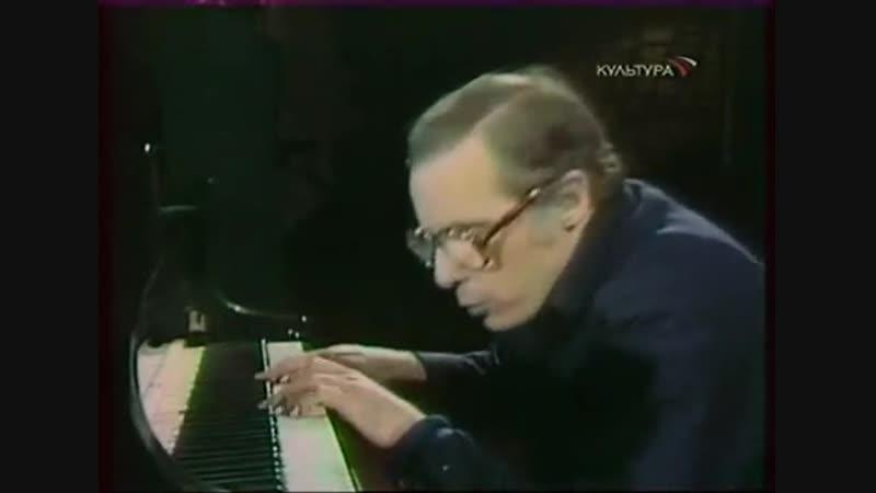 Брюно Монсенжон: д/ф Гленн Гульд играет Баха. Гольдберг-вариации, 1980