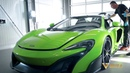 McLaren Gets BRILA'd BRILA Glass Coating