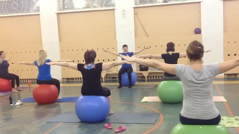 Pilatesball с Натальей Пяткиной в ДК Текстильщик