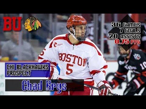 Chad Krys Season Highlights | 2017-2018 Boston University