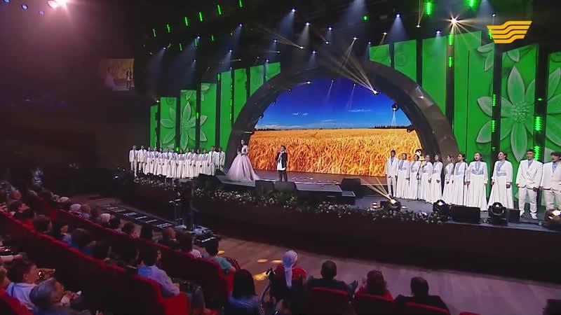 Максим Ержан и Максим Назерке - Отан-Ана (Родина-Мать) - Первый сольный концерт Максима Ержана в Казахстане
