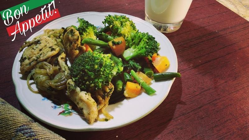 Вкуснейшая курочка с овощами и Ширатаки Рецепты для диеты 2 Машуча