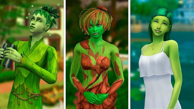 Ростоманы или Плантсимы в The Sims | Сравнение 3 частей