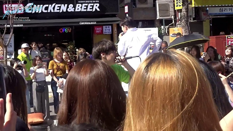 N.Flying - 정리가 안돼 (Don't Mess With Me): 180922 Off To Flying Busking/홍대 버스킹