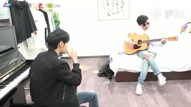 คริส-สิงโต (Krist-Singto) - Backstage-Onstage Mix 1 Fanmeet in Suzhou - 170422