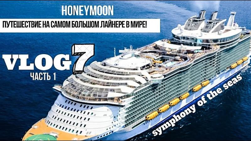 VLOG 7. Honeymoon. Symphony of seas. Против Правил.
