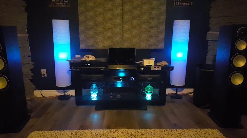 Emotiva PT-100, Monitor Audio Silver 8, Yamaha P-2002, SVS PB-2000