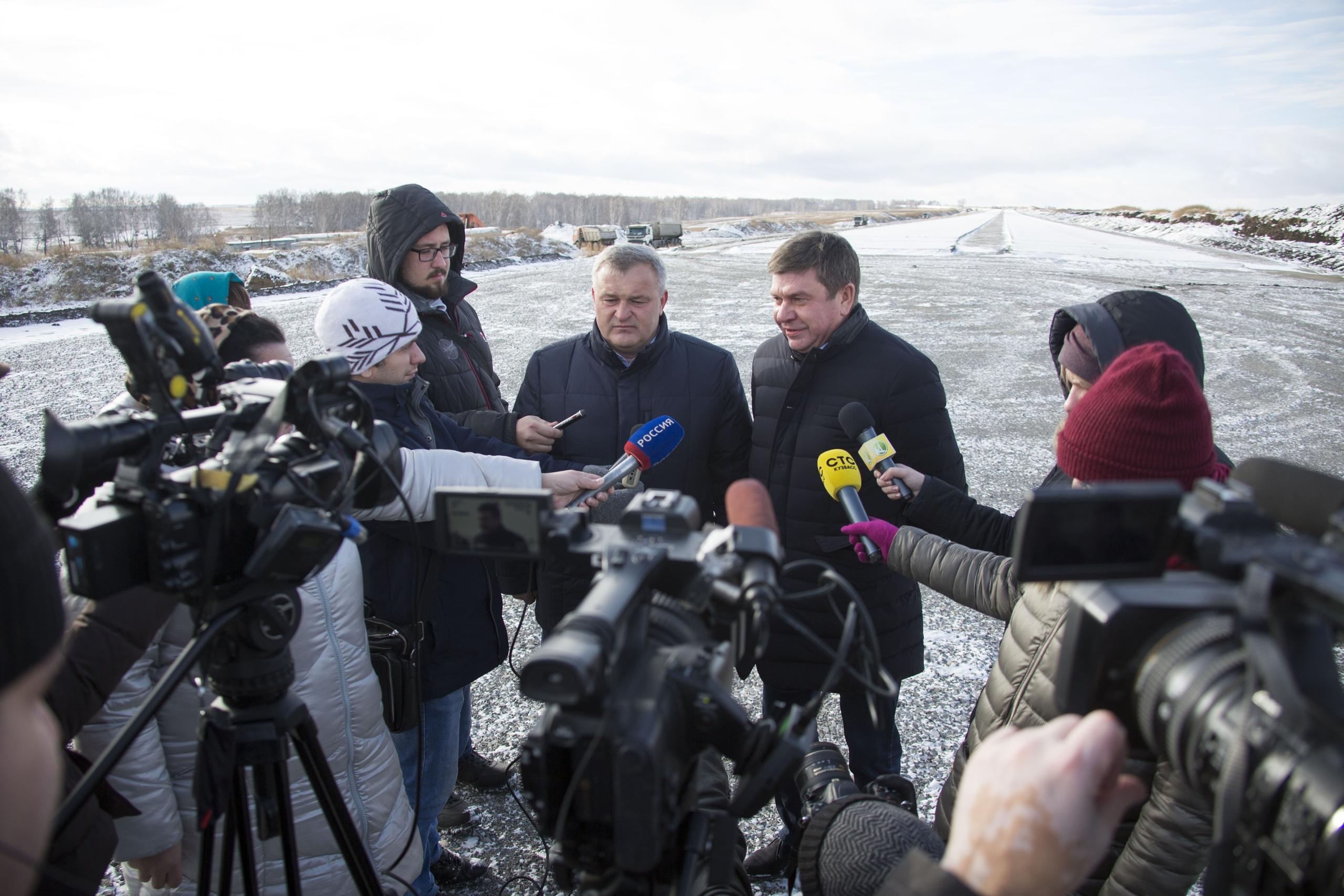Автомагистраль «Кемерово – Ленинск-Кузнецкий» обещают полностью закончить к середине августа 2019 года