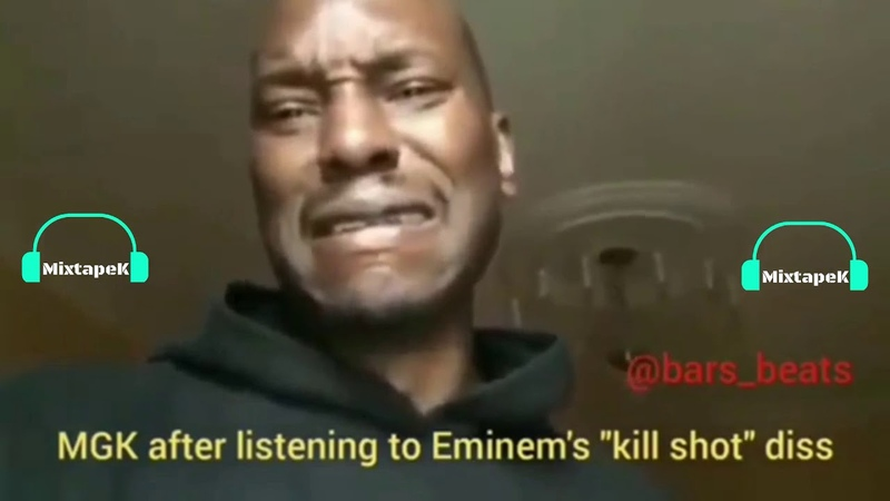 The Ultimate Funny Compilation Of Eminem MGK DISS Will Make Your Day