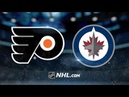 Philadelphia Flyers vs Winnipeg Jets Dec 9 2018 Game Highlights NHL 2018 19 Обзор Матча