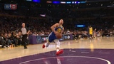 Stephen Curry Slips on a Dunk Attempt - Shaqtin' A Fool - Warriors vs Lakers Jan 21, 2019