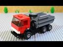 Назад в СССР выпуск №11 LEGO КамАЗ 5511 Самосвал