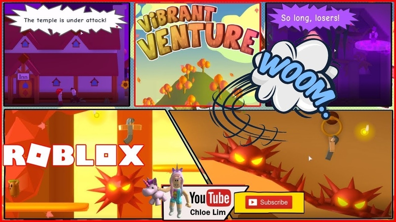 Roblox Vibrant Venture! FUN and RAGING GAME! VERY LOUD SCREAM WARNING!