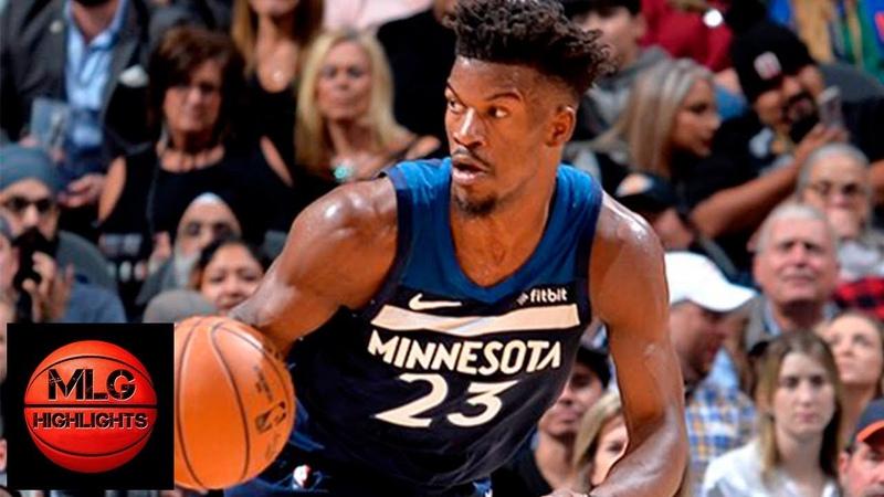 San Antonio Spurs vs Minnesota Timberwolves Full Game Highlights   10.17.2018, NBA Season