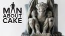 Gothic Gargoyle Cake with Concrete Fondant   Man About Cake Halloween Miniseries