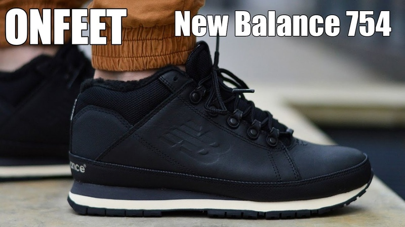 ONFEET New Balance 754 Black White (HL754BN) Review