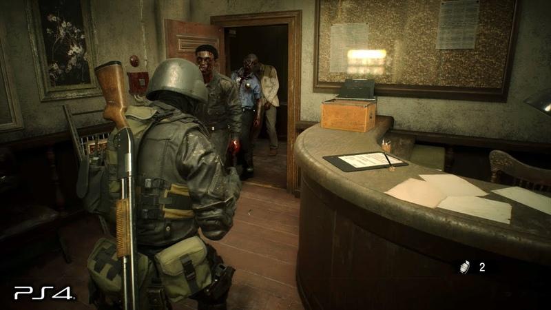 Resident Evil 2 Remake Hunk 4th Survivor No Damage Gameplay PS4 PRO