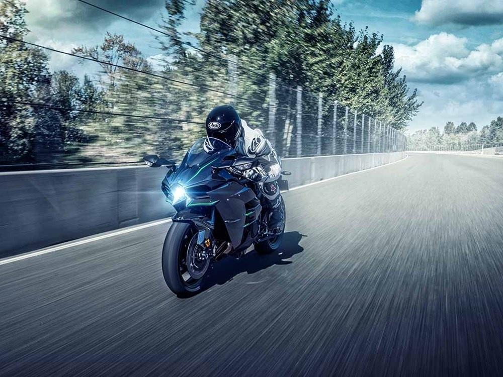 Гипербайк Kawasaki Ninja H2 2019